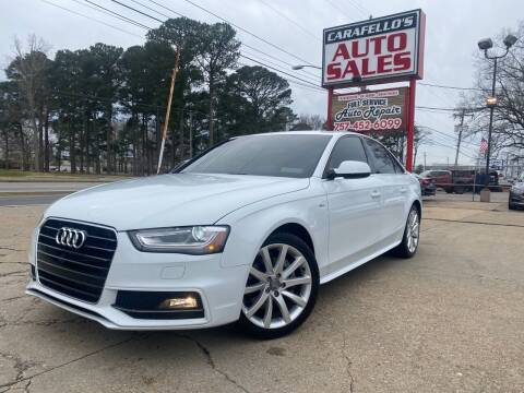 2014 Audi A4 for sale at Carafello's Auto Sales in Norfolk VA