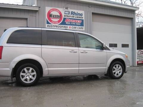 2010 Chrysler Town and Country for sale at BYRNES RUST PROOFING CENTER AND AUTO SALES in N.Clarendon VT