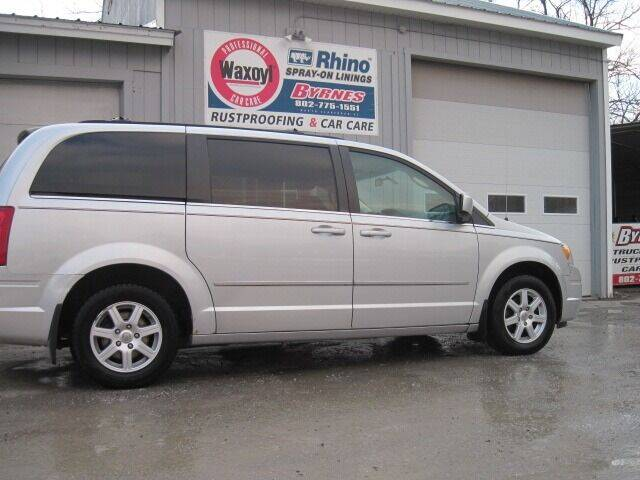 2010 Chrysler Town and Country for sale at BYRNES RUST PROOFING CENTER AND AUTO SALES in North Clarendon VT