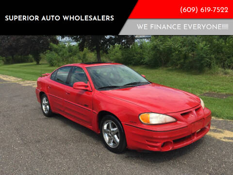 1999 Pontiac Grand Am for sale at Superior Auto Wholesalers in Burlington City NJ