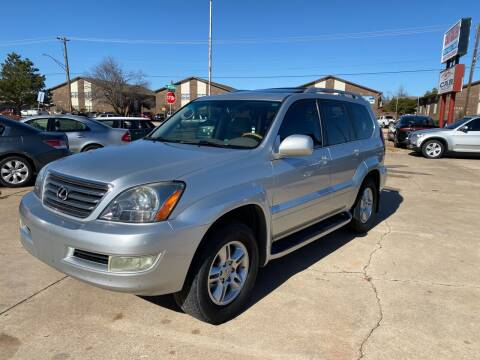 2007 Lexus GX 470 for sale at Car Gallery in Oklahoma City OK