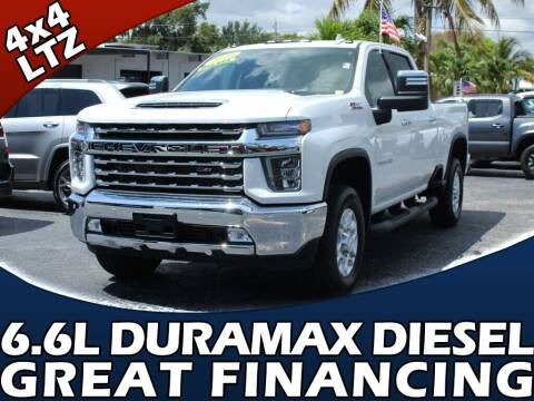 2020 Chevrolet Silverado 2500HD for sale at Palm Beach Auto Wholesale in Lake Park FL