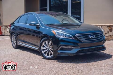 2017 Hyundai Sonata for sale at Mcandrew Motors in Arlington TX