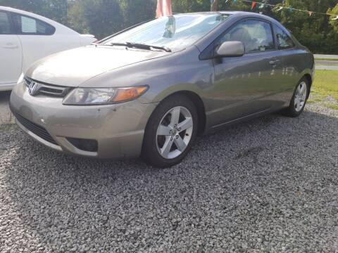 2007 Honda Civic for sale at TR MOTORS in Gastonia NC