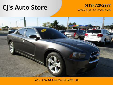 2013 Dodge Charger for sale at CJ's Auto Store in Toledo OH