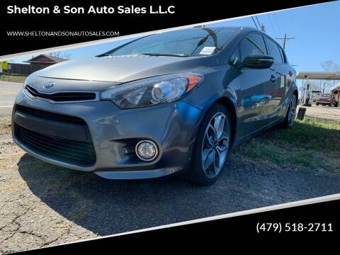 2016 Kia Forte5 for sale at Shelton & Son Auto Sales L.L.C in Dover AR