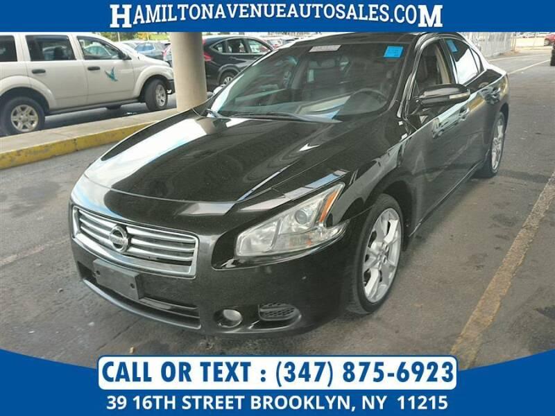 2014 Nissan Maxima for sale at Hamilton Avenue Auto Sales in Brooklyn NY