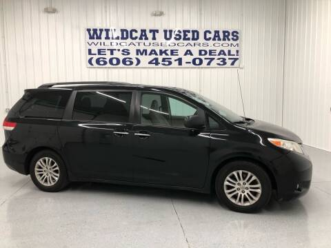 2012 Toyota Sienna for sale at Wildcat Used Cars in Somerset KY
