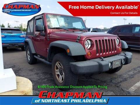 2012 Jeep Wrangler for sale at CHAPMAN FORD NORTHEAST PHILADELPHIA in Philadelphia PA