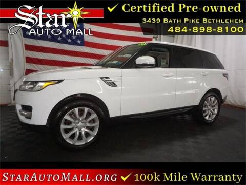2015 Land Rover Range Rover Sport for sale at STAR AUTO MALL 512 in Bethlehem PA