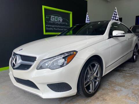 2015 Mercedes-Benz E-Class for sale at GCR MOTORSPORTS in Hollywood FL