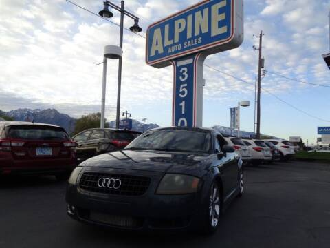 2005 Audi TT for sale at Alpine Auto Sales in Salt Lake City UT