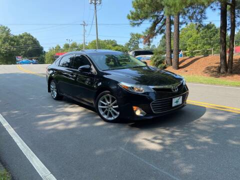 2013 Toyota Avalon for sale at THE AUTO FINDERS in Durham NC