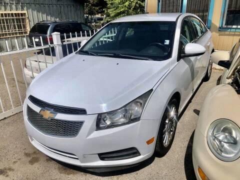2012 Chevrolet Cruze for sale at Top Gun Auto Sales, LLC in Albuquerque NM