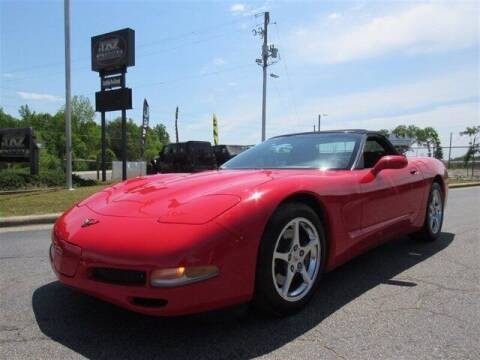 1999 Chevrolet Corvette for sale at J T Auto Group in Sanford NC
