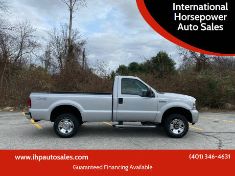 2007 Ford F-250 Super Duty for sale at International Horsepower Auto Sales in Warwick RI