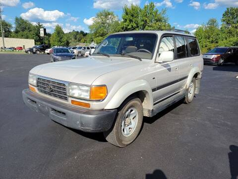 1997 Toyota Land Cruiser for sale at Cruisin' Auto Sales in Madison IN