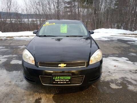 2011 Chevrolet Impala for sale at L & R Motors in Greene ME