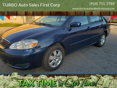 2005 Toyota Corolla for sale at TURBO Auto Sales First Corp in Yonkers NY