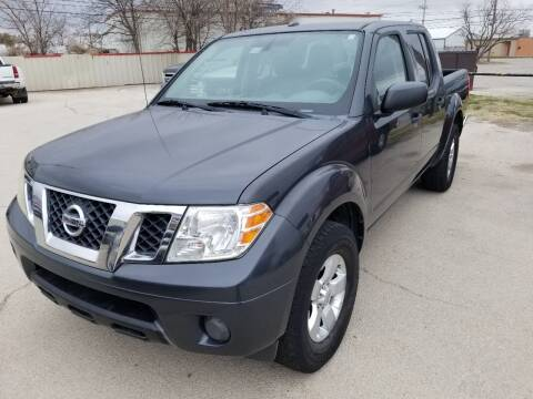 2012 Nissan Frontier for sale at Key City Motors in Abilene TX