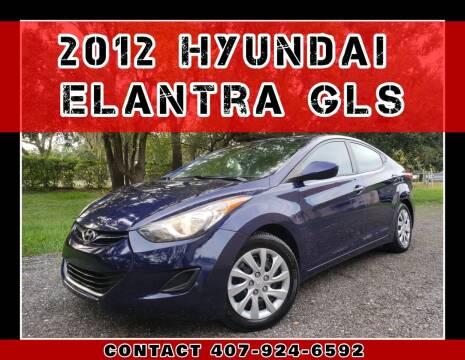 2012 Hyundai Elantra for sale at AFFORDABLE ONE LLC in Orlando FL