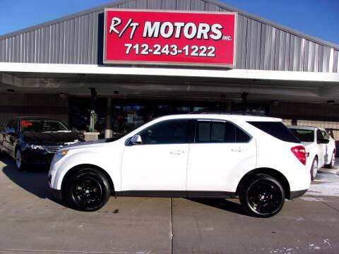 2015 Chevrolet Equinox for sale at RT Motors Inc in Atlantic IA