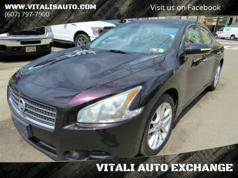 2011 Nissan Maxima for sale at VITALI AUTO EXCHANGE in Johnson City NY