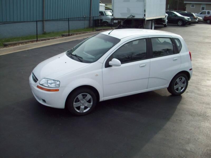 2008 Chevrolet Aveo for sale at Whitney Motor CO in Merriam KS