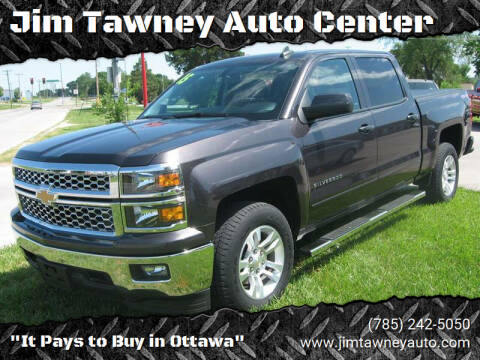 2015 Chevrolet Silverado 1500 for sale at Jim Tawney Auto Center Inc in Ottawa KS