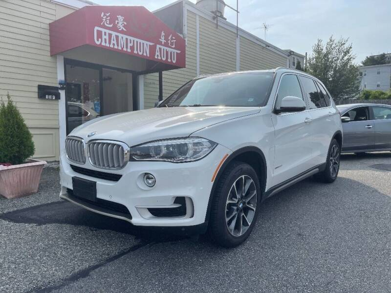 2018 BMW X5 for sale at Champion Auto LLC in Quincy MA