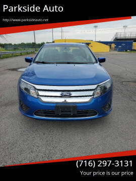 2012 Ford Fusion for sale at Parkside Auto in Niagra Falls NY