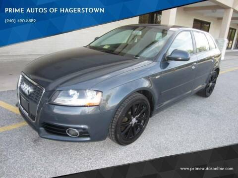 2010 Audi A3 for sale at PRIME AUTOS OF HAGERSTOWN in Hagerstown MD