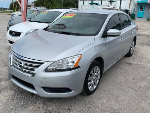 2013 Nissan Sentra for sale at EXECUTIVE CAR SALES LLC in North Fort Myers FL