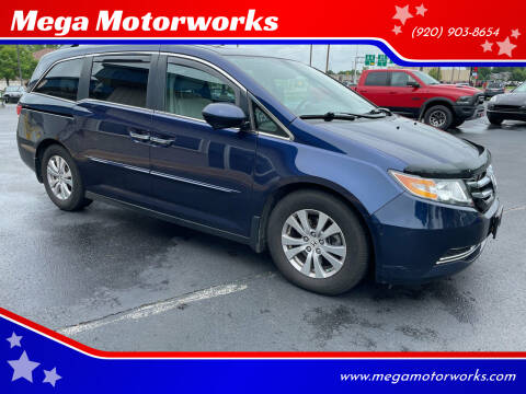 2014 Honda Odyssey for sale at Mega Motorworks in Appleton WI