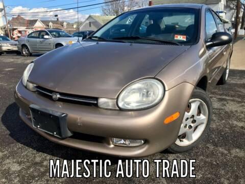 2000 Dodge Neon for sale at Majestic Auto Trade in Easton PA
