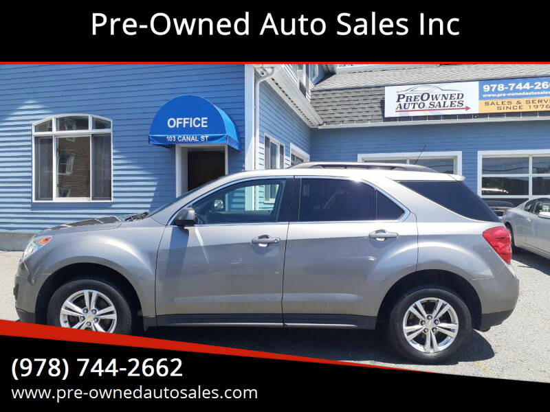 2012 Chevrolet Equinox for sale at Pre-Owned Auto Sales Inc in Salem MA