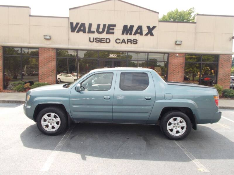 2007 Honda Ridgeline for sale at ValueMax Used Cars in Greenville NC