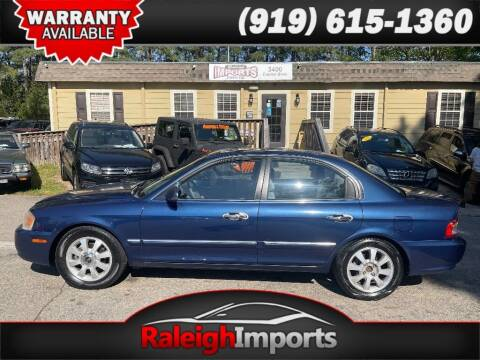 2004 Kia Optima for sale at Raleigh Imports in Raleigh NC