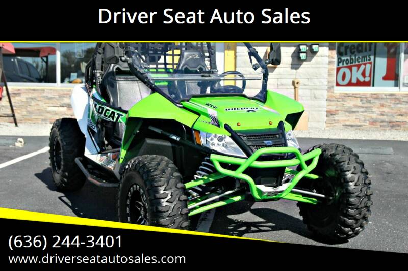 2015 Arctic Cat WILDCAT X for sale at Driver Seat Auto Sales in St. Charles MO