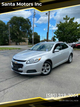 2016 Chevrolet Malibu Limited for sale at Santa Motors Inc in Rochester NY