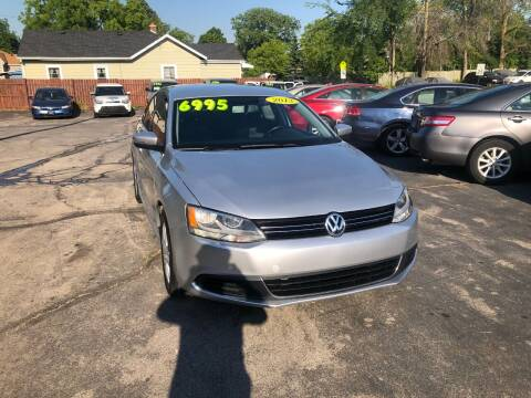 2013 Volkswagen Jetta for sale at DISCOVER AUTO SALES in Racine WI