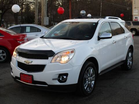 2012 Chevrolet Equinox for sale at Bill Leggett Automotive, Inc. in Columbus OH
