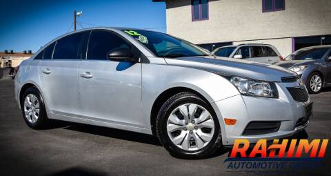 2012 Chevrolet Cruze for sale at Rahimi Automotive Group in Yuma AZ