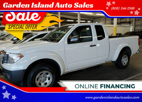 2015 Nissan Frontier for sale at Garden Island Auto Sales in Lihue HI