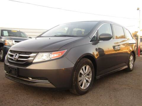 2015 Honda Odyssey for sale at More Info Skyline Auto Sales in Phoenix AZ