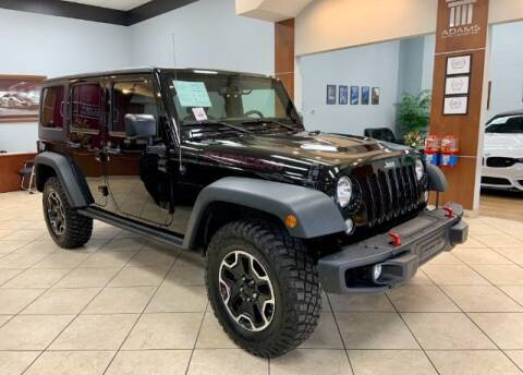 2016 Jeep Wrangler Unlimited for sale at Adams Auto Group Inc. in Charlotte NC