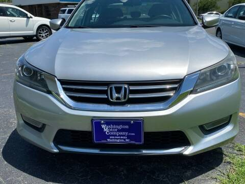 2013 Honda Accord for sale at East Carolina Auto Exchange in Greenville NC