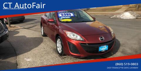 2011 Mazda MAZDA3 for sale at CT AutoFair in West Hartford CT