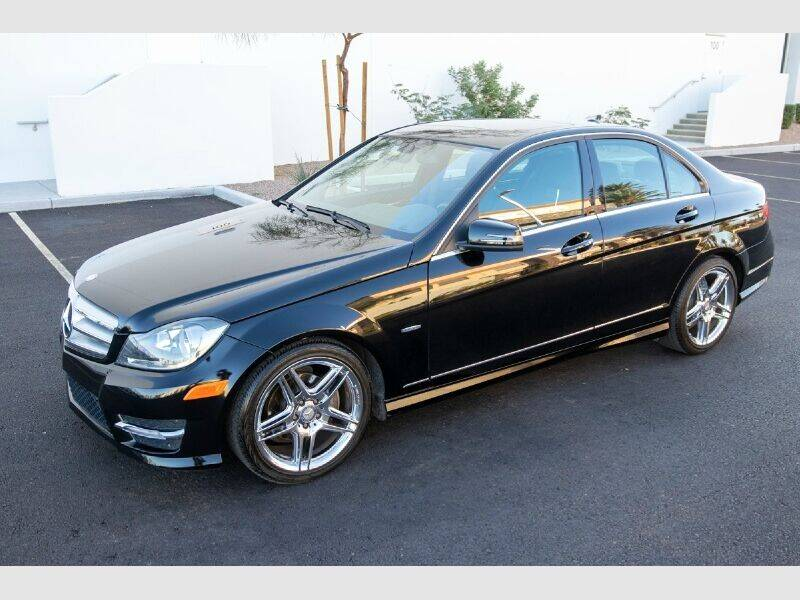 2012 Mercedes-Benz C-Class for sale at REVEURO in Las Vegas NV