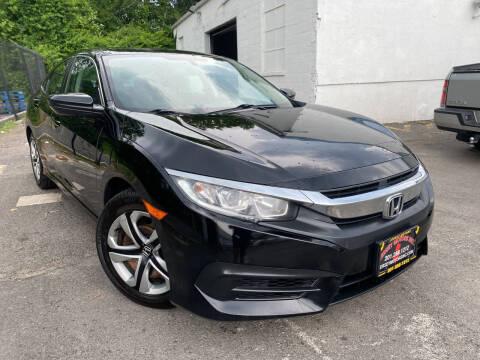 2017 Honda Civic for sale at JerseyMotorsInc.com in Teterboro NJ